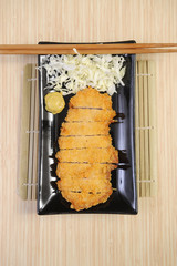 Japanese pork cutlet
