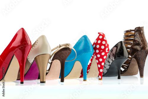 canvas print picture Schuhe mit hohen Absätzen