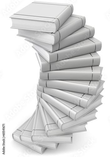 Bücher grau