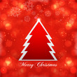 Christmas tree bright colorful vector background