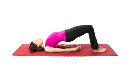 Bridge Pose in Yoga and Pilates
