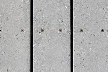 Mixed Plastic Resin Plank Walkway