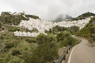 Road to Casares, Andalusia, Spain