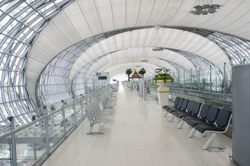 Airport terminal in Bangkok