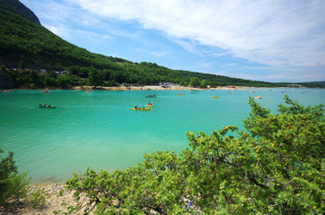 lac de sainte croix - verdon