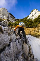 Trekking in Romanian mountains