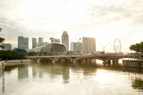 Embankment of Singapore