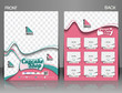 Cup Cake Shop Front & Back Flyer Template