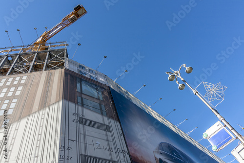 building under construction in kiev