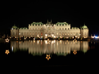 Christmas at Belvedere Palace, Vienna