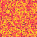 Fototapety Abstract background consisting of colored triangles