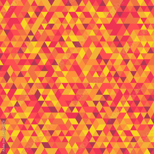 Abstract background consisting of colored triangles