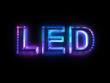 LED technology sign - 60548832