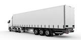 Fototapety White truck