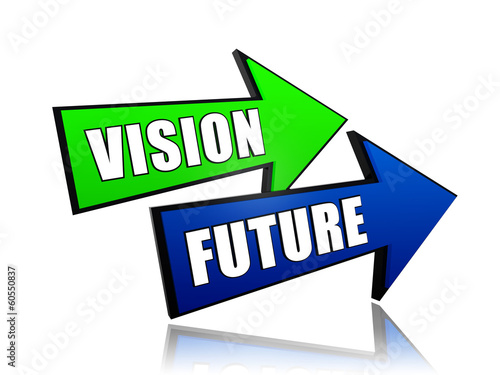 vision future in arrows