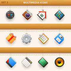 hung icons - set 2