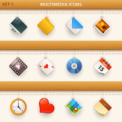 hung icons - set 1