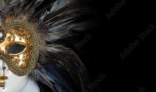 Fotobehang Carnaval Venetian mask