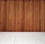 Fototapety wood wall and floor