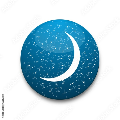 Blue moon icon
