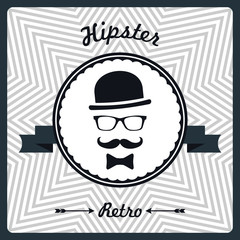 Hipster retro vector illustration