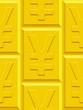 Yen gold plate pattern