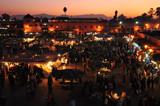 Sunset at Jamaa el-Fna Square