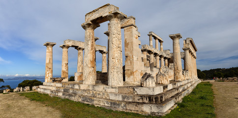 Temple of Aphaia, Aegina Island, Greece