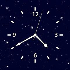 часы и звезды