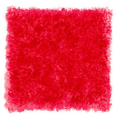 Red Watercolor Textured Square Frame Border
