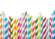 Striped drink straws - 60556494