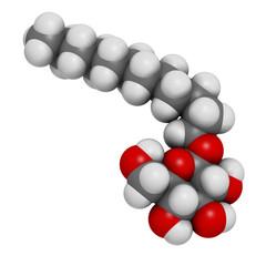 Lauryl glucoside (dodecyl glucoside) non-ionic surfactant