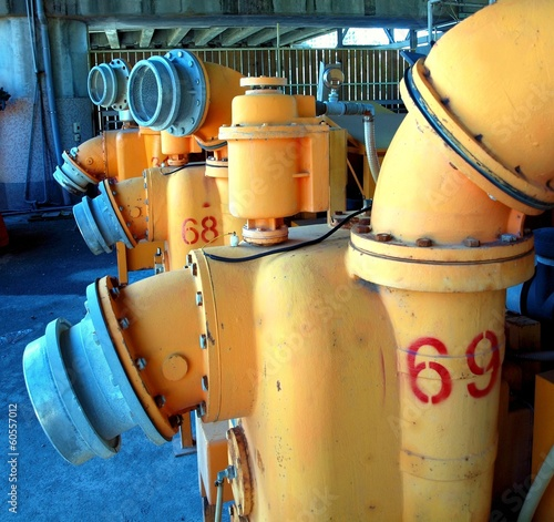 Old Wastewater Equipment