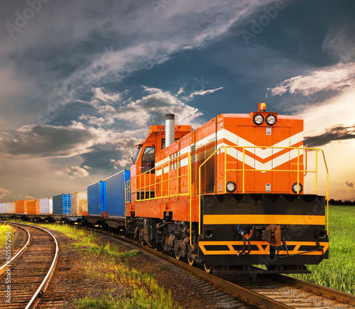freight train - 60557204