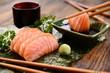 Salmon sashimi - 60557875