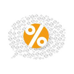 the sale bubble illustration