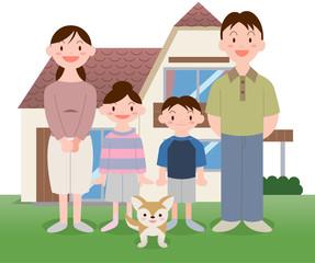 マイホーム家族