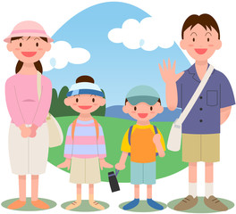 高原家族旅行