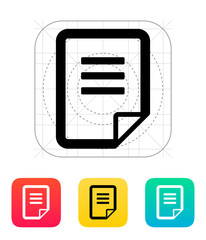 Document icon.