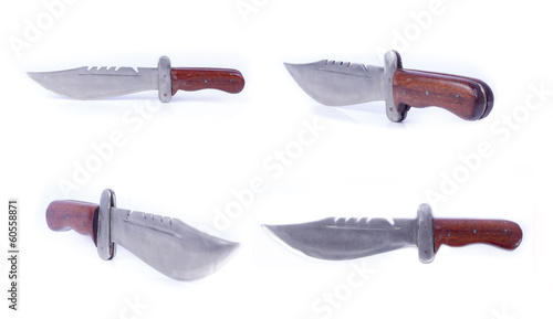 Knifes, broadsword And Saber Set