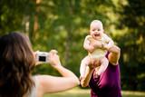 Precious memories - grandmother with baby