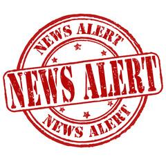 News alert stamp