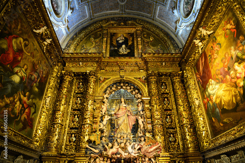 São Roque Church altar, Lisbon, Portugal