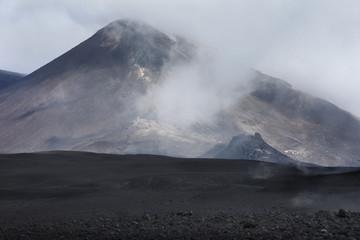 Volcano Etna in Catania, Sicily, Italy.