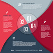 Modern design template for infographics