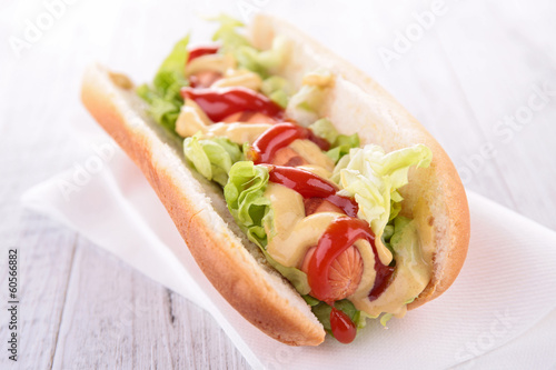 hot dog sandwich