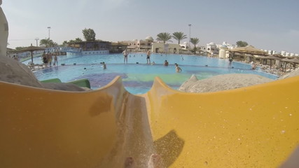 Fun in waterpark