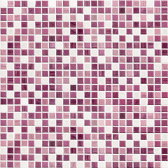 purple tiled kitchen or bathroom wall