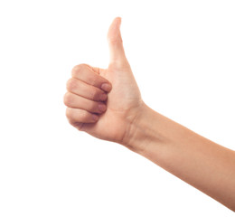 Thumb up hand