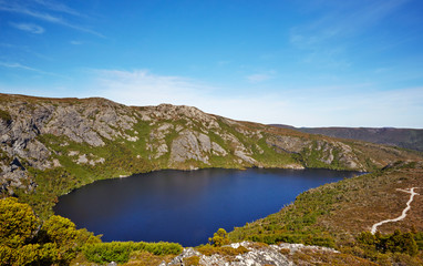 Alpine Lake on Overland Trail, Cradle Mountain